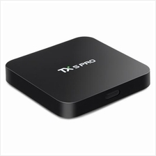 TX5 PRO TV BOX H.265 QUAD CORE AMLOGIC S905X ANDROID 6.0 2.4G 5.8G MED