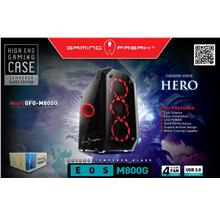 Gaming Freak EOS Full Temper Glass Tower Case GFG-M800G