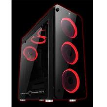 Gaming Freak M2 820G Temper Glass Middle Tower Case (USB3.0) - Black
