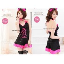 03771 Role-Playing Cat Girl Valentina Evening Wear Set