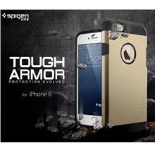 100% Original Spigen SGP Apple iPhone 6 6S 4.7 Tough Armor Case Cover