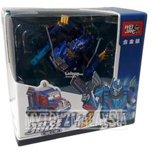 Wei Jiang Q-Transformers Optimus Prime: Robot to blue/gold truck
