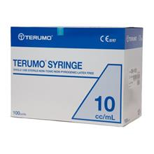 Terumo Syringe Luer Slip 10ml 100pcs/box
