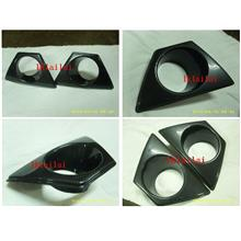 Honda Civic '06 Mugen RR Fog Lamp Cover Carbon Fiber Water Painting