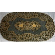 Anti Slip Floor Mat / Carpet 75cm x 44cm *Code 636 Gold*