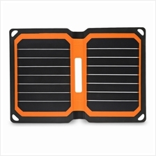 Portable 9W Folding Solar Panel Charger Water-resistant Mobile Power Bank (ORA