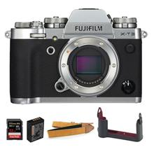 Fujifilm X-T3 XT3 Digital Camera Body (Silver)- Limited Package (MSIA)