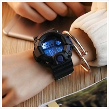 Digital Waterproof Luminous Watches Solid Color Silicone Strap Sports Watch