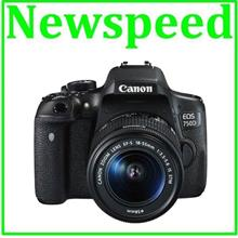 Canon EOS 750D 18-55mm IS STM Lens Digital Camera +16GB+Bag (Import)