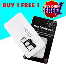 Buy 1 Free 1 Nano Micro Standard Sim Card Adapter Fit iPhone 4 4S 5 5S