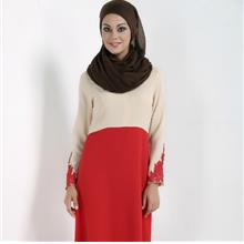 CHARMING JUBAH (RED/GREY/BLUE/BLACK, SIZE M)