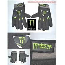 LELONG FREE POS HAND GLOVE SARUNG TANGAN MONSTER SUPERBIKE