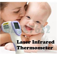Non-Contact IR Laser Digital Body Forehead Thermometer Ear w/Pointer