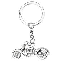 CAR KEY RING CLASSIC MOTORCYCLE TEXTURE HAND