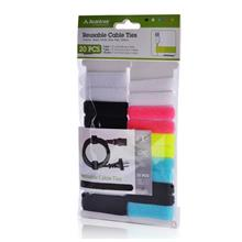 ORIGINAL AVANTREE Velcro cable ties [20 Pack] ~3 different sizes