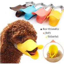 Pet Cat Dog Duckbill Sets Anti-bite Anti-licking Muzzles Silicone Case