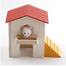 Hamster House Jaula Conejo Hamster Supplies Blocks Hut Small Pet Cage