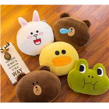 Line Friends Brown Cony Sally Soft Toy Doll  Birthday Valentine Gift