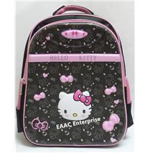 3D Hello Kitty Cartoon Kids Kindergarten Primary School Bag Backpack B