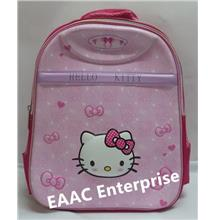 3D Hello Kitty Cartoon Kids Kindergarten Primary School Bag Backpack P