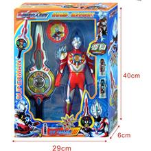 AB239-6 Ultraman summon weapons Figures set Gadgets with Sound & LED
