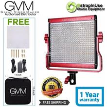 GVM 480LS LED Video Light Bi-Color 2300-6800K CRI97 Aluminium Body
