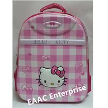 3D Hello Kitty Block Kids Kindergarten Primary School Bag Backpack PIN