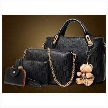 4 in 1 Luxury Faux Leather Bag Set