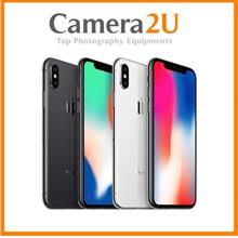 APPLE IPhone X [64GB/256GB] 1 Year International Warranty [Ori HK set]