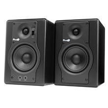 FLUID AUDIO Fader Series F4 Studio Monitor Speakers (Pair); FREE Cable