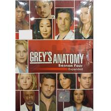 English Drama Grey's Anatomy Season Four Expanded DVD