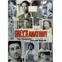 English Drama Grey's Anatomy The Complete Second Season DVD