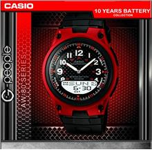 CASIO AW-80-4BV ANALOG DIGITAL WATCH ☑ORIGINAL☑