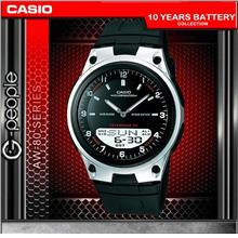 CASIO AW-80-1AV ANALOG DIGITAL WATCH ☑ORIGINAL☑