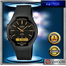 CASIO AW-90H-9E ANALOG DIGITAL WATCH☑ORIGINAL☑