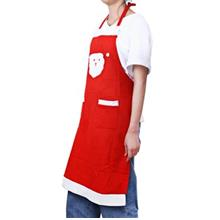 CHRISTMAS SANTA CLAUS KITCHEN APRON DINNER PARTY DECORATION