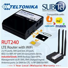 Teltonika RUT240 LTE 4G 3G 2G Router Modem with WiFi AP Industrial