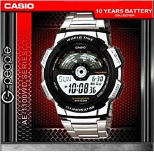 CASIO AE-1100WD-1AV WORLD TIME WATCH☑ORIGINAL☑