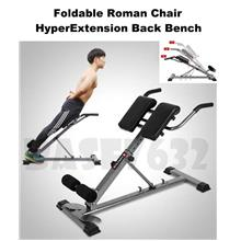 YiChiJian Hyper Extension Back Workout Fitness Gym Bench Roman Chair