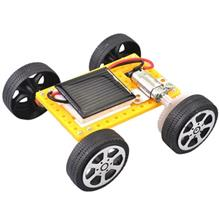 DIY Assemble Toy Set Solar Powered Car Kit Science Educational Kit for Kids St
