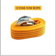 Emergency 3 Tons Strong Car Tow Rope