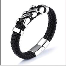 Hot Single Item New Type Men's Leather Bracelet