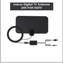 Mini HD Indoor Digital TV HDTV Antenna ATSC System Signal Receiver UHF/VHF