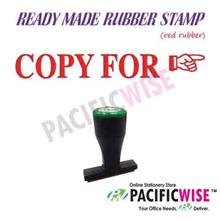 Ready-Made Rubber Stamp (COPY FOR)