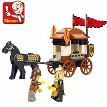 Sluban Warring Carriages Lego Compatible Brick Building Blocks Toy
