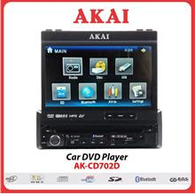 AKAI Car DVD Player - AK-CD702D