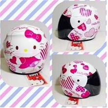 CELLY Adult Helmets Hello Kitty For Ladies (PINK)