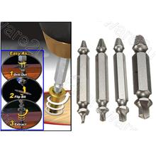 4Pcs Double End Damaged Screw Extractor Set (SEDE04)