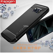 100% Original Spigen Samsung Galaxy S7 / Edge Rugged Armor Case Cover