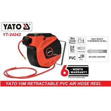 Yato 12mm x 10mtr Auto Retractable Pneumatic Air Hose Reel